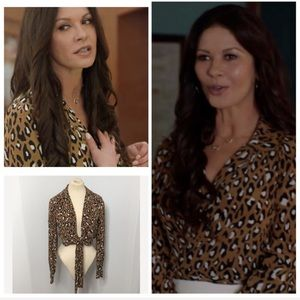 Diane Von Furstenberg Tops - Worn by Catherine Zeta Jones